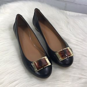 NWOT BANANA Republic Audra Jeweled Leather Flats